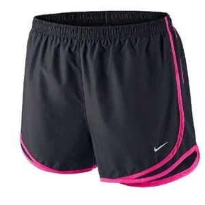 Nike Tempo Dri-Fit Shorts black and Pink